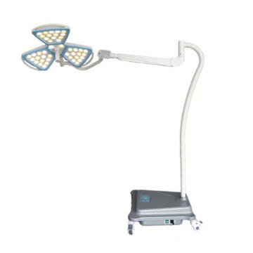 Hospital portable petal examination lamp with battery